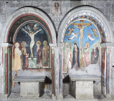 Viterbo - Santa Maria Nuova - cappelle affrescate