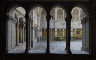 Santuario Madonna della Quercia - VT - Scorcio Chiostro della Cisterna