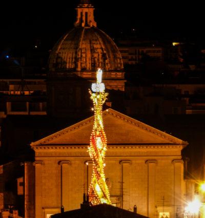 Viterbo - monastero Santa rosa e trasporto della Macchina